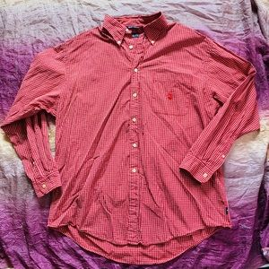 Nautica Button Front Long Sleeve Shirt